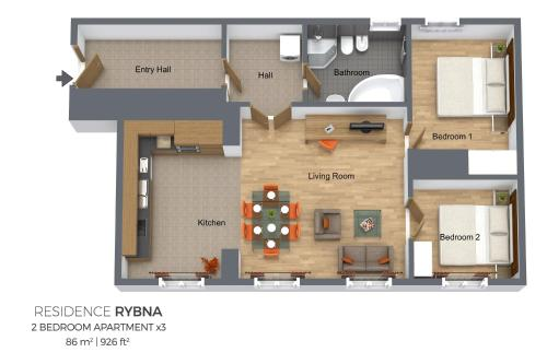 Apartment  with 2 Bedrooms