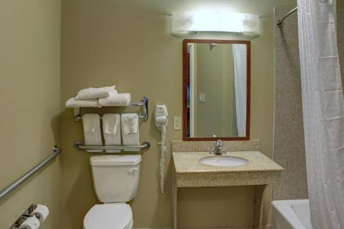 Double Studio with Roll-In Shower - Disability Access