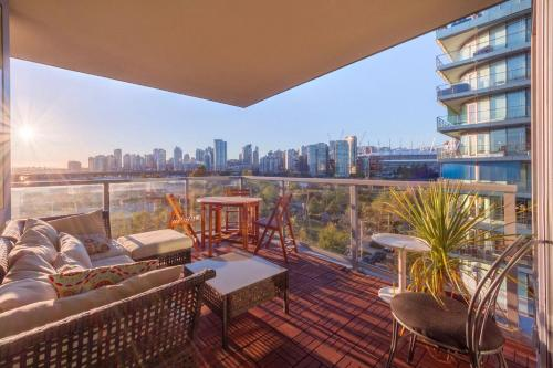Light and Airy Olympic Village 2BR/2BA