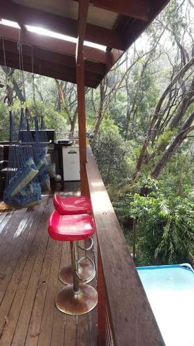 Misty Treetops with pool and sauna in Leura