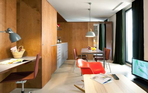 Apartamento de 1 dormitorio Hotel Neri 9