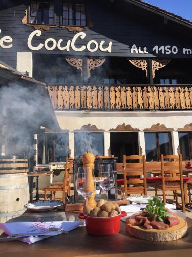 Coucou Bar Hotel Restaurant Menu