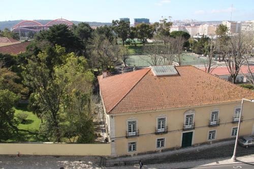 Beautiful view close to Estádio da Luz