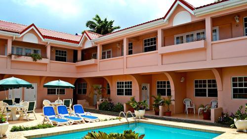 Beach Cross Villa Apartments, Gros Islet