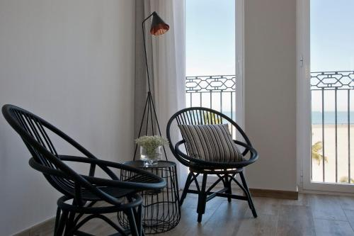 Double Room with Sea View - single occupancy Hotel Boutique Balandret 7