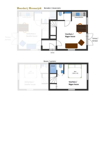 Large One-Bedroom House