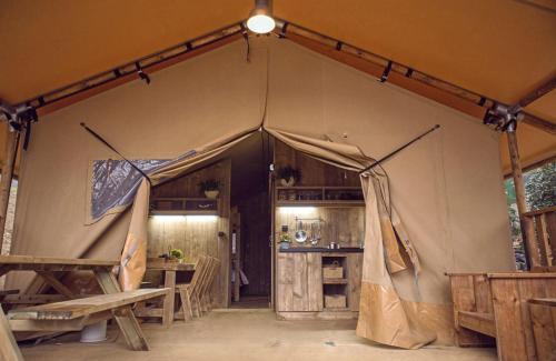 Rustic Luxury Tent