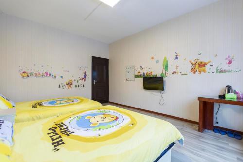 Shang Hai Disney Resorts Dream Works Theme Inn, Xangai
