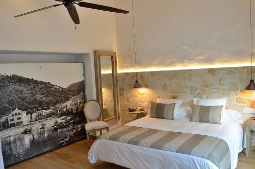 Double or Twin Room Hotel Galena Mas Comangau 1