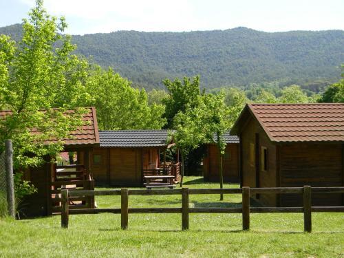 Camping-Bungalow la Vall de Campmajor front view