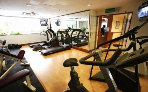 Fitness center Terrific Suites at KL