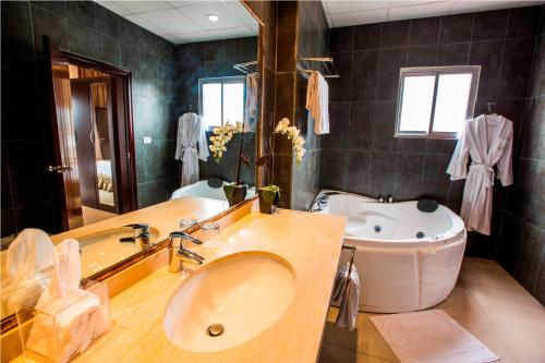 King Suite med spabad (King Suite with Spa Bath)