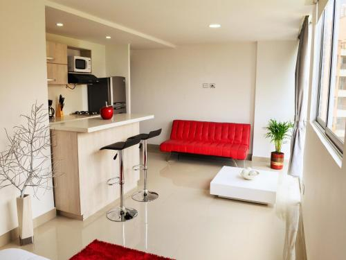 Hotel Studio apartment El Poblado