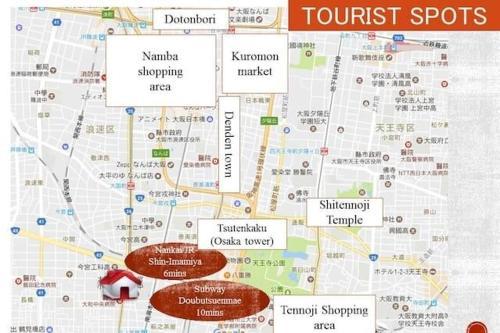 Best Price on Osaka Near Nanba Apartment 015 in Osaka + Reviews!