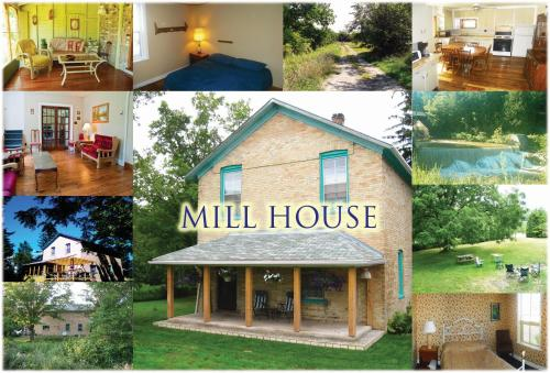 6-Bedroom Mill House Cottage by the Falls