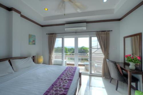 Δωμ. Deluxe (Θέα Θάλασσα) (Deluxe Double Room with Sea View)