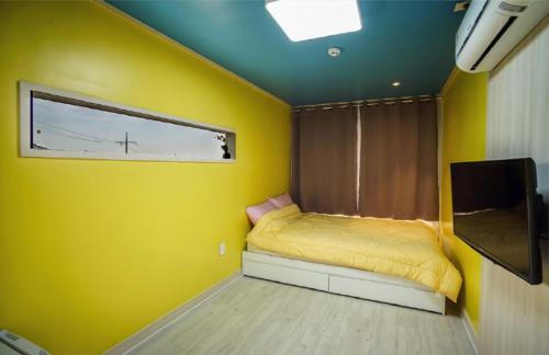 Deluxe Double Room Hyupjjae Caravan&Pension