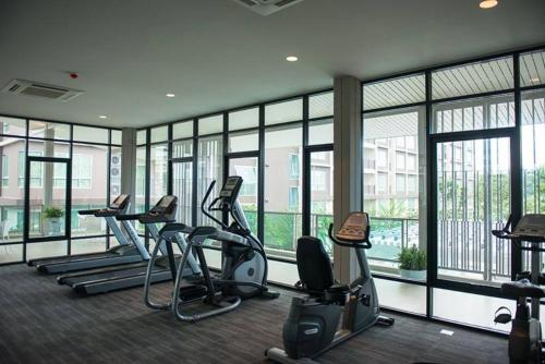 Fitness center Hua Hin Studio Apartment B716