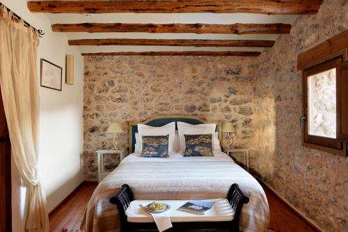 Double Room Beceite Hotel Mas de la Serra 1