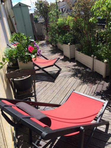 Appart Batignolles/Terrasse