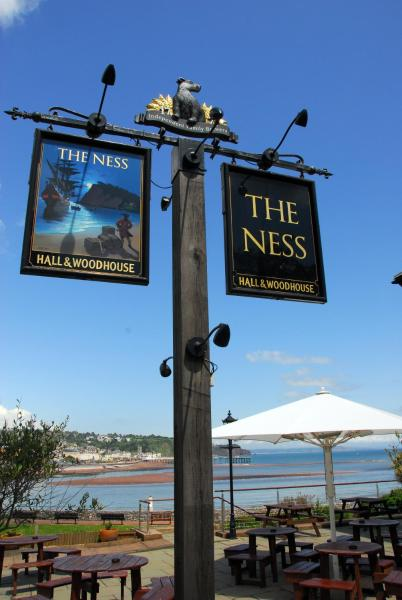 The Ness in Teignmouth, Devon, England