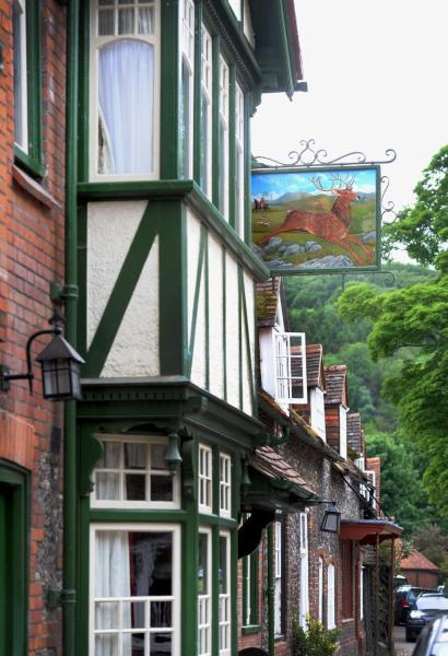 The Stag and Huntsman at Hambleden in Henley on Thames, Oxfordshire, England