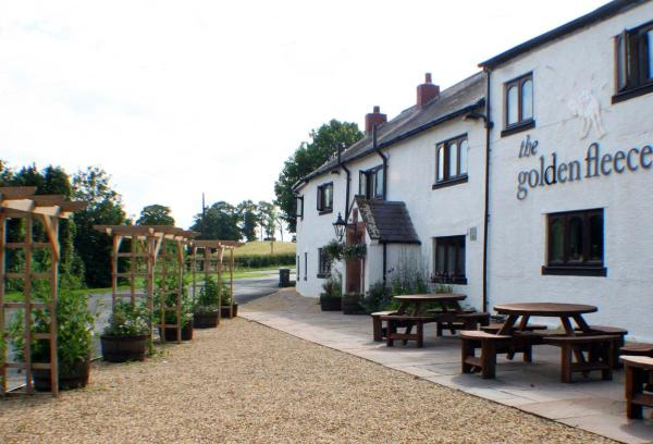 The Golden Fleece Inn in Irthington, Cumbria, England