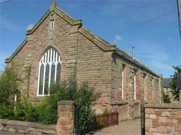 The Old Church in Horncliffe, Northumberland, England