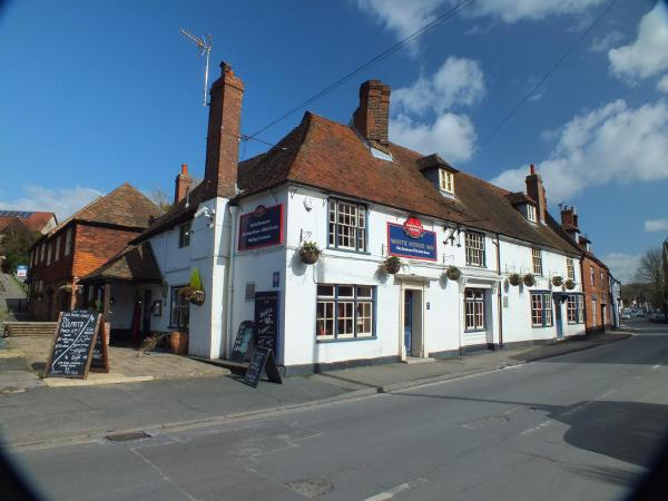 The White Horse Inn in Faversham, Kent, England