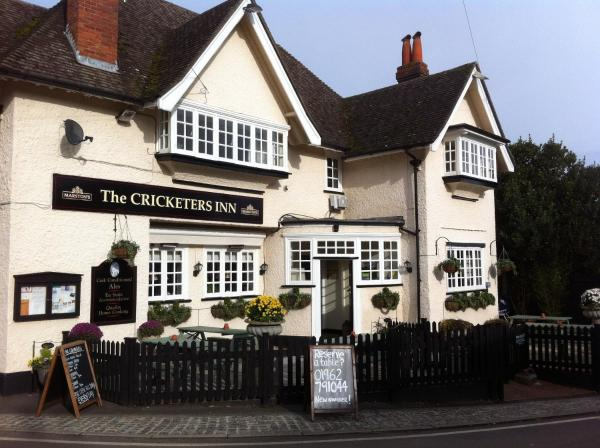 The Cricketers Inn in Winchester, Hampshire, England