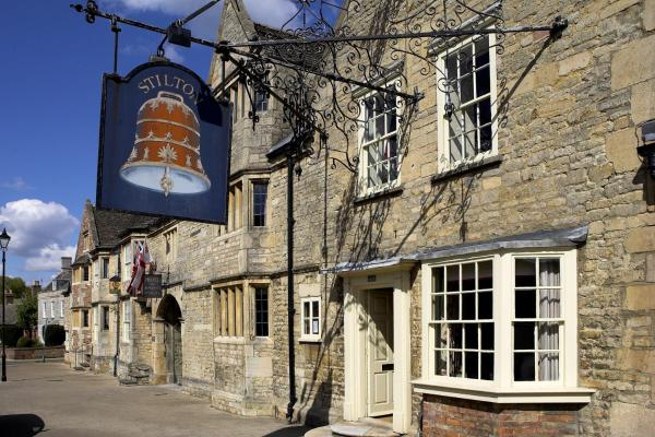 The Bell Inn Stilton in Stilton, Cambridgeshire, England