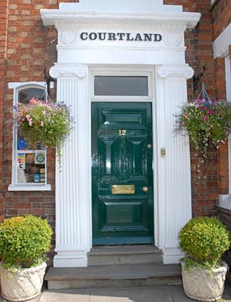 Courtland in Stratford-upon-Avon, Warwickshire, England