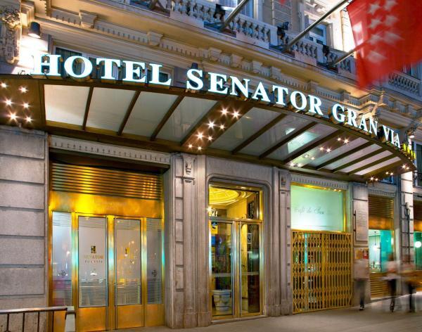 Senator Gran Vía 21 Hotel: alojamento Hotel Madrid – Pensionhotel