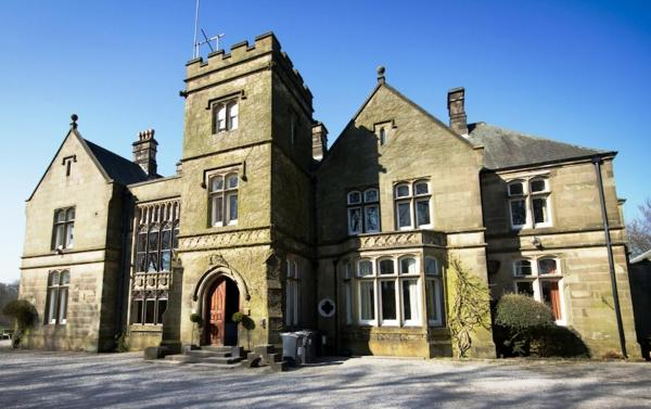 Hargate Hall in Buxton, Derbyshire, England