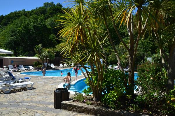 Watermouth Cove Holiday Park in Ilfracombe, Devon, England
