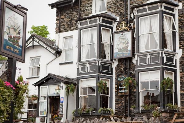 The Royal Oak Inn in Bowness-on-Windermere, Cumbria, England