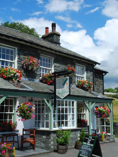 Three Shires Inn in Little Langdale, Cumbria, England