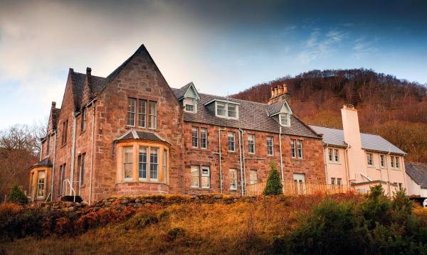 Loch Maree Hotel in Letterewe, Highland, Scotland