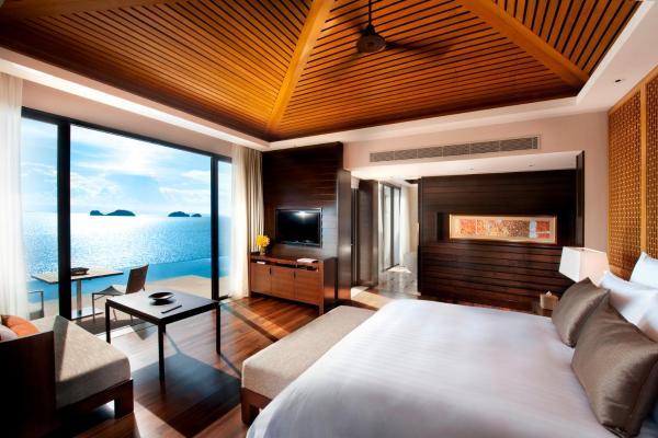 Luxus schlafzimmer mit meerblick  Pool Villa mit 1 Schlafzimmer - Meerblick - Conrad Koh Samui ...