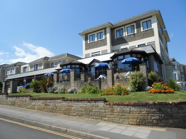 The Wight Bay Hotel in Sandown, Isle of Wight, England