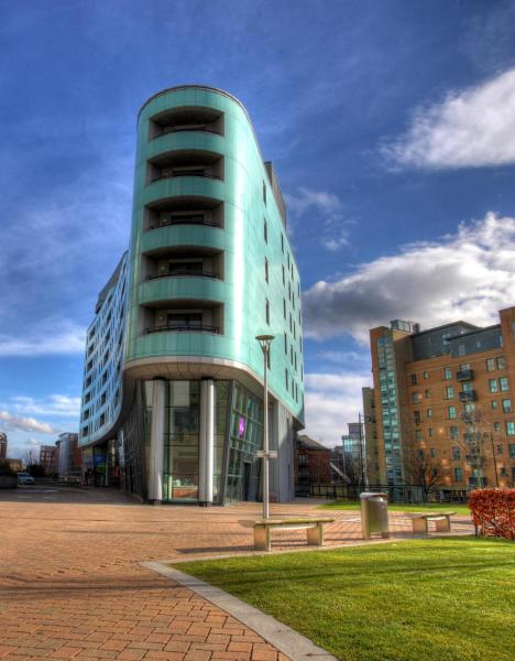 Gateway Apartments in Leeds, West Yorkshire, England