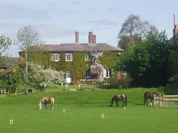Lower Buckton Country House in Leintwardine, Herefordshire, England