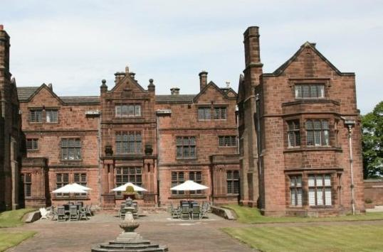 Thornton Manor in Heswall, Merseyside, England