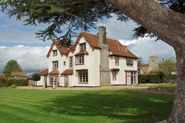Haughley House in Stowmarket, Suffolk, England