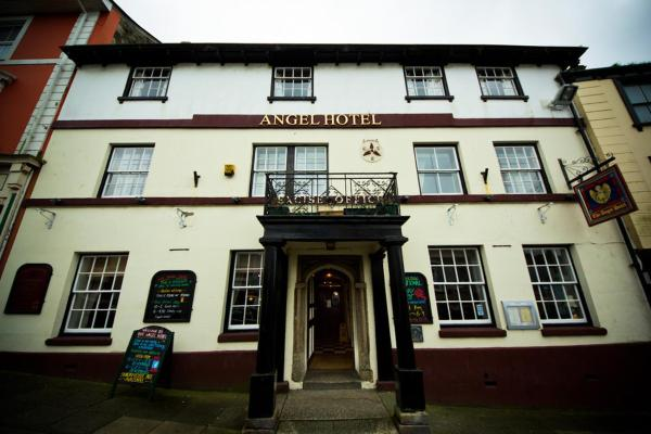 The Angel Hotel in Helston, Cornwall, England