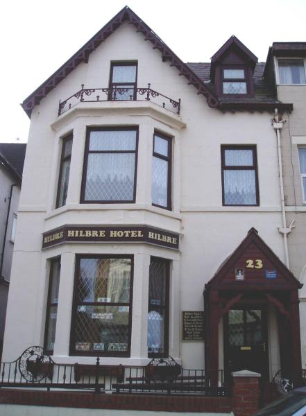 Hilbre Hotel in Blackpool, Lancashire, England