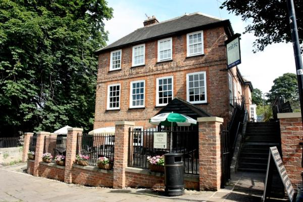 The Mitre Inn in Knaresborough, North Yorkshire, England