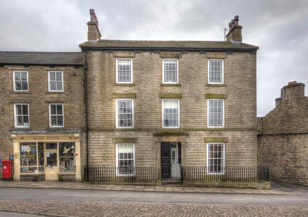 Skeldale House in Askrigg, North Yorkshire, England