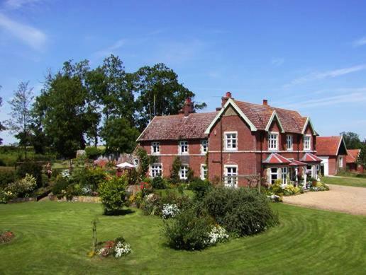Earsham Park Farm in Bungay, Suffolk, England