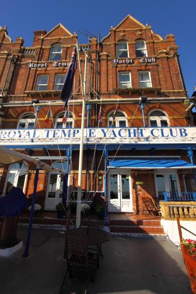Royal Temple Yacht Club in Ramsgate, Kent, England